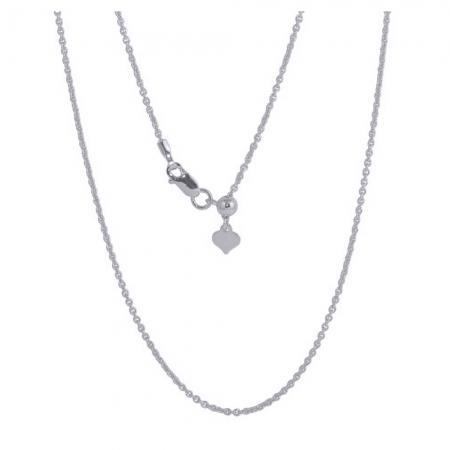 Lant din argint 925 reglabil de la 35 cm la 61 cm LSX0137