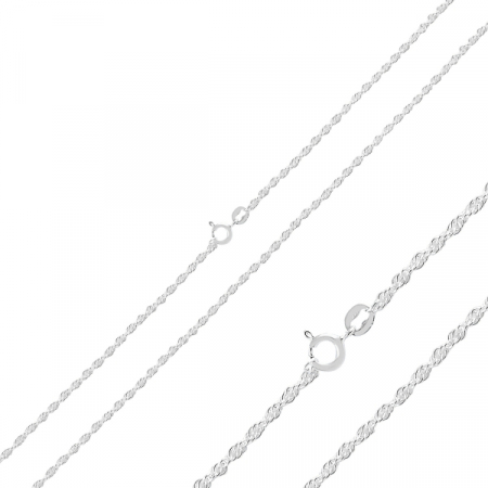 Lant argint tip franghie  50 cm