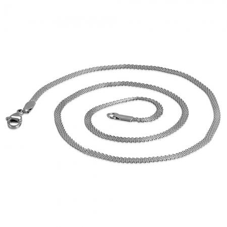 Lant inox plat 45 cm lungime si 2.5 mm latime [1]