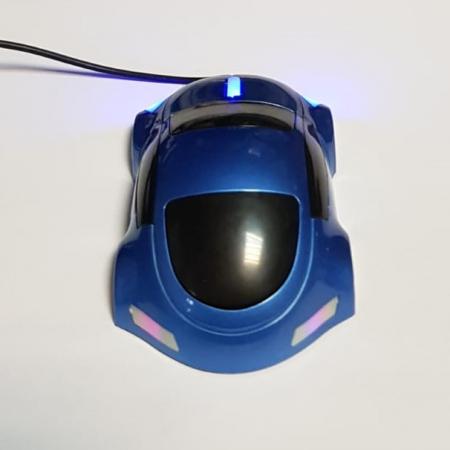 Mouse funny optic in forma de masinuta albastra2