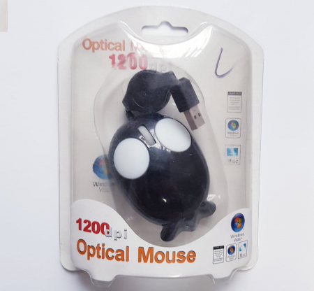 Mouse funny optic mini - in forma de pestisor3