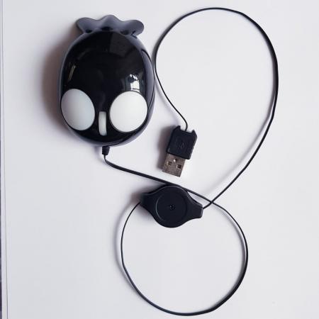 Mouse funny optic mini - in forma de pestisor1