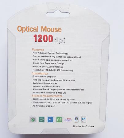 Mouse funny optic mini - in forma de pestisor4