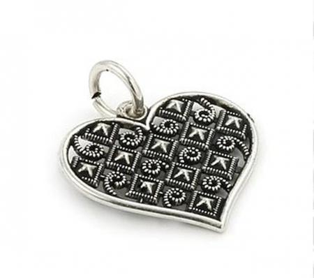 Pandantiv argint 925 inima PSX0196 - Be In Love