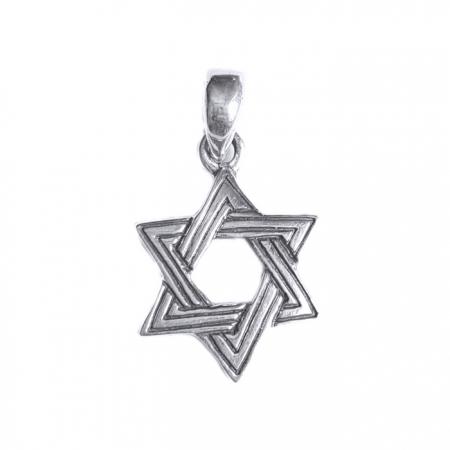 Pandant argint 925 cu Steaua lui David1