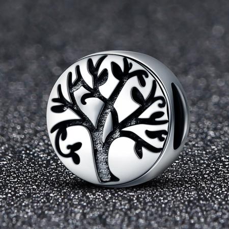 Pandantiv argint 925 cu copacul vietii cu aspect vintage - Be Nature  PST0109 [1]