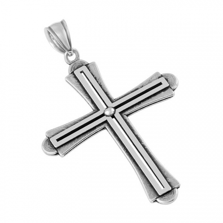 Pandantiv argint 925 in forma de cruce PSX0567