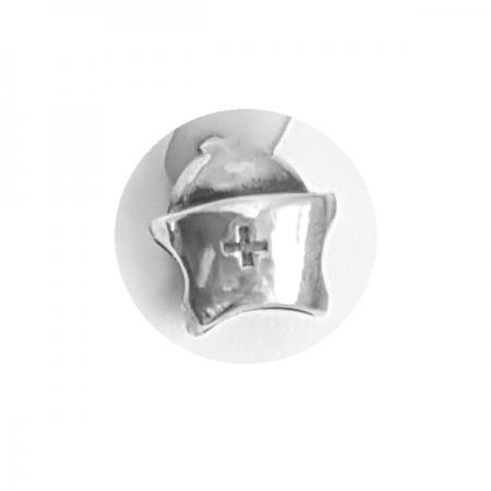 Pandantiv argint 925 cruce cu aspect vintage pentru bratara tip charm PAN04831