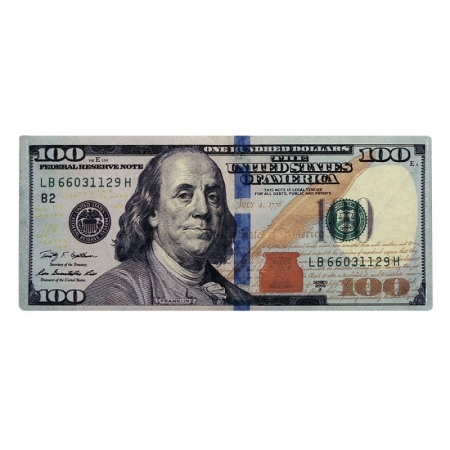 Portbancnota piele ecologica 100 dolari americani - PBA05