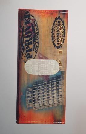 Portbancnota piele ecologica TURNUL DIN PISA  PBA13 Multicolor3