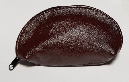 Portchei piele naturala Bordo pentru chei lungi PCH78