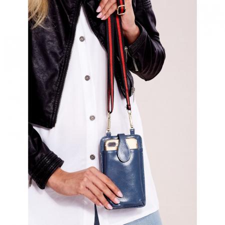 Portdocument (mini-borseta de umar) cu husa telefon din piele ecologioca (PU) BOR1003