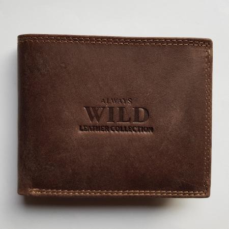 Portofel barbati piele naturala Wild PORM640