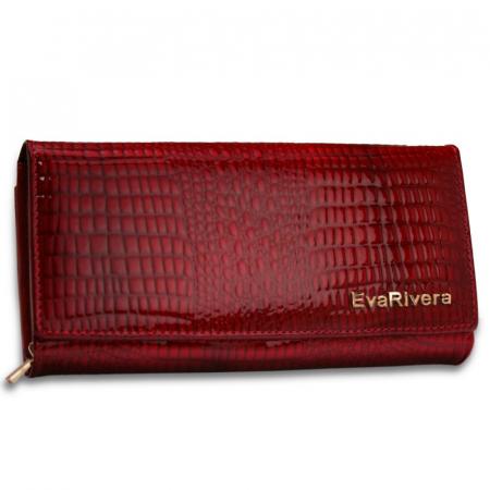 Portofel de lux pentru dama din piele naturala EvaRivera PORTZ014