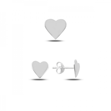 Set argint 925 cu inimioare - Be in Love STU0023