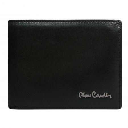 Set cadou barbati din piele naturala (portofel + curea) Pierre Cardin PORM8004