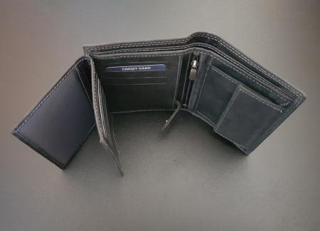 Set cadou barbati Wild BuffalO, portofel si curea din piele naturala, PORMG9002