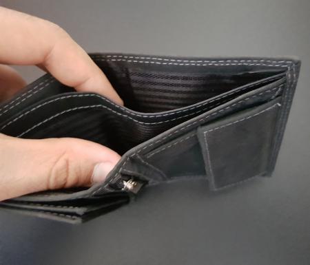 Set cadou barbati Wild BuffalO, portofel si curea din piele naturala, PORMG9003