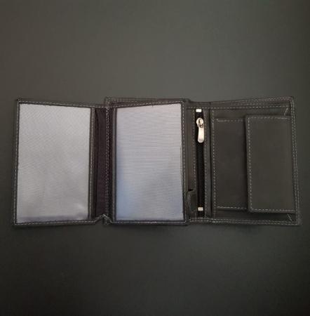 Set cadou barbati Wild BuffalO, portofel si curea din piele naturala, PORMG9009