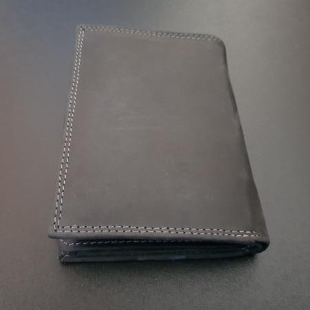 Set cadou barbati Wild BuffalO, portofel si curea din piele naturala, PORMG90019