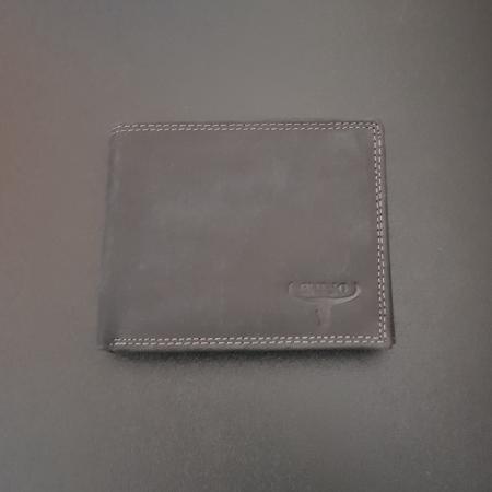 Set cadou barbati Wild BuffalO, portofel si curea din piele naturala, PORMG90224