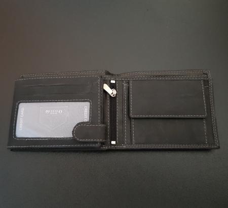 Set cadou barbati Wild BuffalO, portofel si curea din piele naturala, PORMG9027