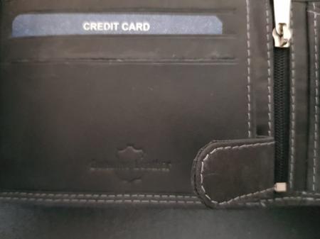 Set cadou barbati Wild BuffalO, portofel si curea din piele naturala, PORMG90223