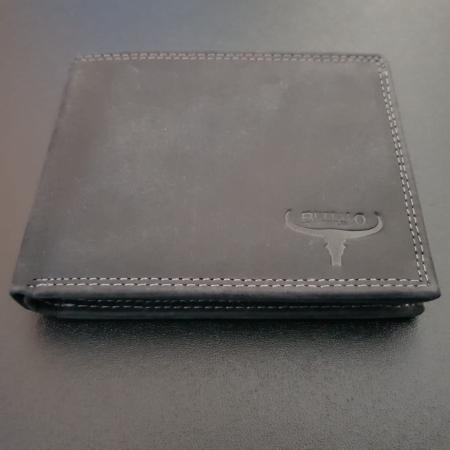 Set cadou barbati Wild BuffalO, portofel si curea din piele naturala, PORMG9023