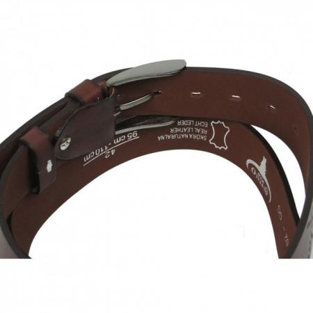 Set cadou barbati (portofel + curea) din piele naturala Wild PORM8027
