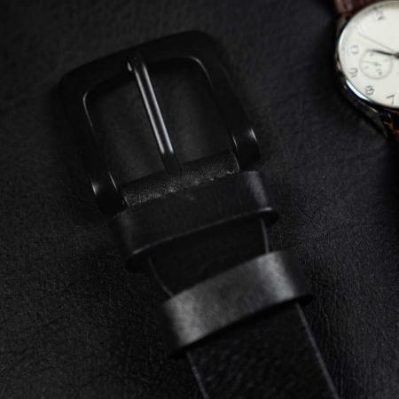 Set cadou barbati, portofel si curea din piele naturala, Rovicky, PORMG903, cu RFID10