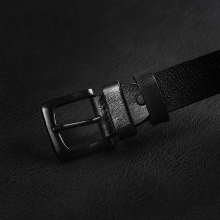 Set cadou barbati, portofel si curea din piele naturala, Rovicky, PORMG903, cu RFID9