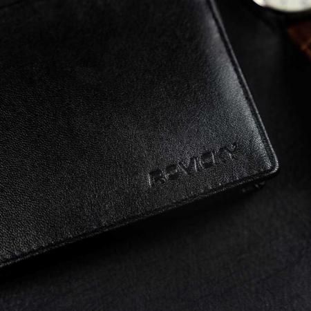 Set cadou barbati, portofel si curea din piele naturala, Rovicky, PORMG905, cu RFID9