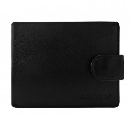 Set cadou barbati, portofel si curea din piele naturala, Rovicky, PORMG903, cu RFID1