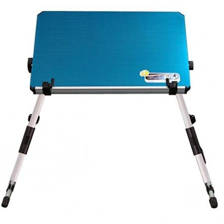 Suport pentru laptop si lectura Albastru
