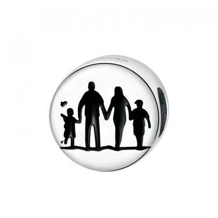 Talisman argint cu Familie Unita