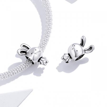 Talisman argint iepuras dragalas [1]