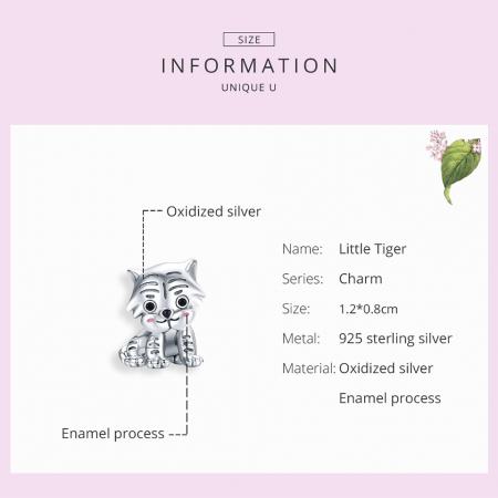 Talisman argint pui de tigru [3]