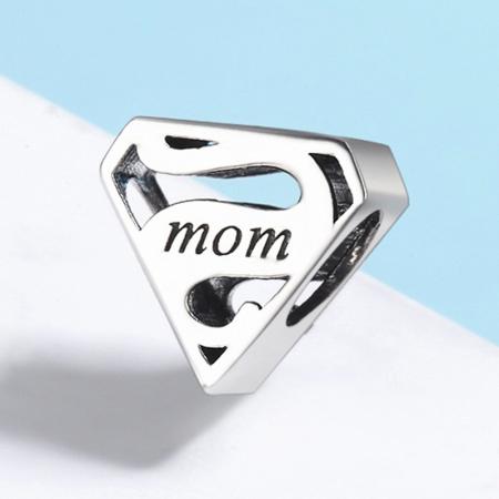 Talisman argint Super Mom2