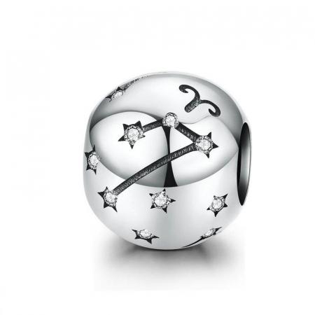 Talisman argint zodia Berbec