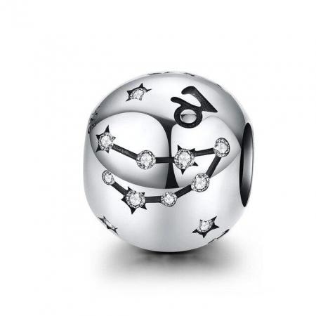 Talisman argint zodia Capricorn