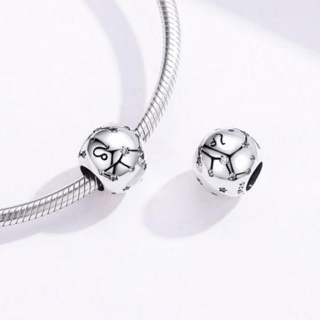 Talisman argint zodia Leu [2]