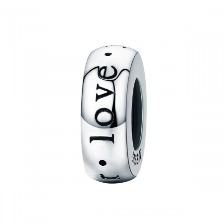 Talisman din argint cu mesaj de dragote