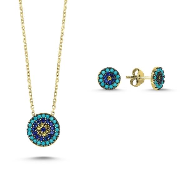 Set bijuterii din argint, cadou potrivt pentur femei indiferent de varsta