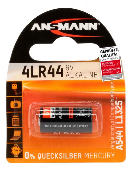 Baterie alcalina 4LR44 ANSMANN [0]