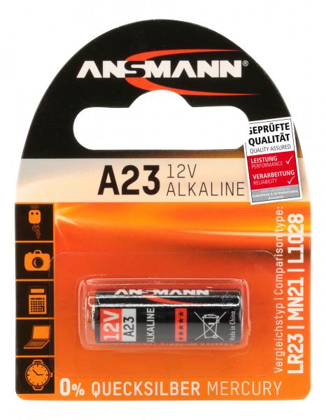 Baterie alcalina A23 ANSMANN [0]