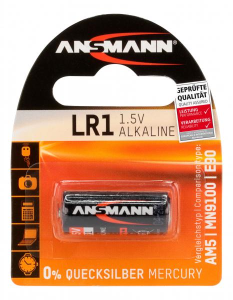 Baterie alcalina LR1 ANSMANN [0]