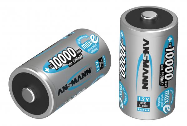Acumulatori D R20 10000mAh blister 2 bucati ANSMANN [1]