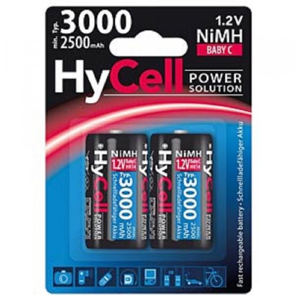 Acumulatori C R14 3000mAh blister 2 bucati HYCELL [0]