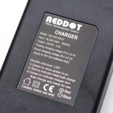 Incarcator acumulator stationar REDDOT 24V 3A [0]