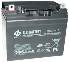 Acumulator stationar plumb acid BB BATTERY 12V 40Ah AGM VRLA High Rate / Longlife [0]